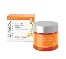 Andalou Naturals Brightening Probiotic Plus+ C Renewal Cream 1.7 oz