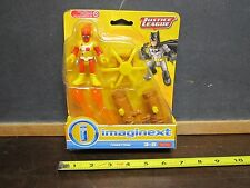 Imaginext DC Super Friends Fisher Price Justice League Firestorm NEW damaged box