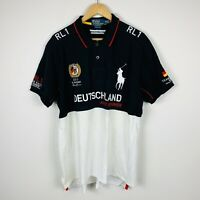 Ralph Lauren Team Racing Germany 2011 Mens Polo Shirt Size 2XL Limited Edition