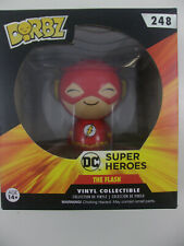 FUNKO DORBZ RED THE FLASH  #248 SUPER HEROES VINYL COLLECTIBLE