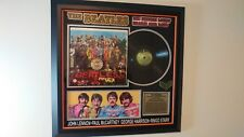Beatles Signed SGT. Peppers Lonely Hearts Club Band Album All 4 Beatles! RARE!