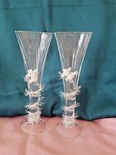 Wedding Champagne Flutes Artisan Made