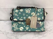 Jason Wu Classic Blue Floral Classic Handbag Satchel Purse Bag 11X9X4 NWT E
