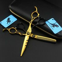 "6"" Professional Barber Salon Hair Scissors Hairdressing Cutting Thinning Shears"