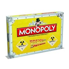 New Monopoly Board Game Back To The Future Collector Edition Age 8+ Yrs P-551#