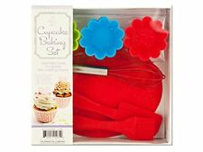 Silicon Cupcake Baking Set 10 Pc Essential Tools For Everyday Baking Free Ship