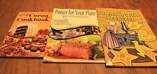 3 cookbooks, Amish Dutch, Power For Your Plate, Cocoa