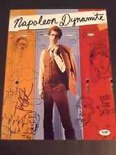 Jon Heder signed autograph 11x14 photo Napolean Dynamite PSADNA