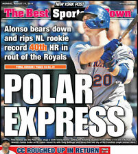 PETE ALONSO AMAZIN METS ROOKIE SETS HR RECORD NY POST NEWS 8/19 2019