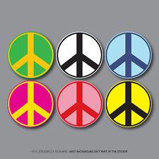 LOGO della pace-Band LA BOMBA-CND-Hippy Camper VW Adesivo Decalcomania-SKU2721