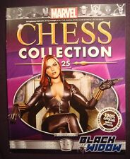 Eaglemoss Marvel Chess Collection Iusse #25 Black Widow Magazine Only No Figure