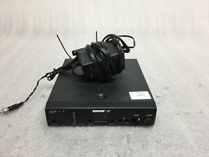 TESTED SHURE UC4-UA 782-806MHz Wireless Receiver Power Supply and Antenna #20