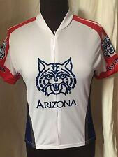ADRENALINE Promotions Cycling Bike Jersey UNIVERSITY OF AZ WILDCATS Womens Small