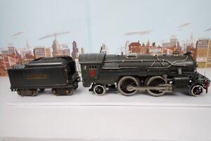 Vintage Prewar Lionel Standard Gauge No.385E Steam Engine & 384T Tender