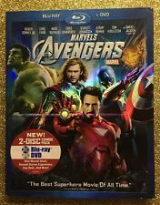 Avengers, The (Blu-ray+DVD, 2012) NEW w/ OOP Slipcover; Marvel