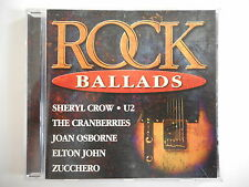ROCK BALLADS : SHERYL CROW / U2 / THE CRANBERRIES / ZUCCHERO [ CD ALBUM PORT 0€]