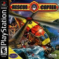 Rescue Copter Playstation 1 Game PS1 Used