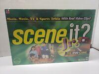 SCENE IT? JR. DVD Trivia Board Game by MATTEL *New & Sealed*