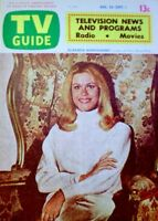 TV Guide 1972 Bewitched Elizabeth Montgomery South Australia International COA