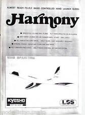 Kyosho Harmony Manuale Inglese modellismo