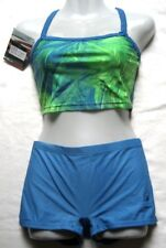 TYR Mädchen Damen Bikini Diamondback Tankini Gr 34 Cobalt chlorbeständig