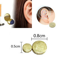 Cigarettes Magnetic Stop Smoke Ear Acupressure Ear Magnet Quit Anti-Smoking DD