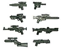 LEGO Star Wars Guns Lot of 8 Blasters Clone Trooper Storm Rebel Weapon Pack