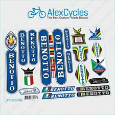 BENOTTO Campagnolo Restoration Decals Flags Frame Fork Kit Stickers
