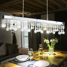 LED Design Pendel Lampe Decken Hänge Lüster Kristall Kugel Glas Behang Leuchte