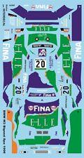 Bmw m3 (e36) Bigazzi 24h spa 1996 decal 1/43 naßschiebebild ja0979