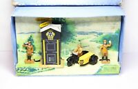 Dinky No 44 AA Hut Motorcycle Patrol And Guides In Its Original Box - Rare