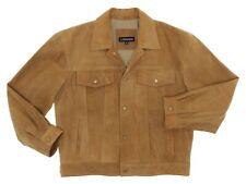J PETERMAN Leather Jacket L Large Mens SUEDE Vintage Rancher WESTERN Coat USA