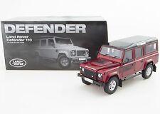 1:18 Land Rover Defender D110 One Ten Dorlop Diecast Model Red (RHD) NEW