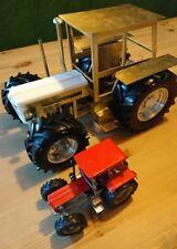 Schlüter 1350 compact 1:14 Blocher, Bruder, RC Metall Traktor Karosserie Rohbau