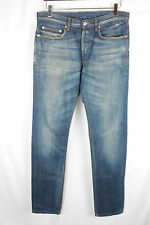 Dior Homme Blue Denim Jeans Pants Skinny Washed 31 32 34 SAINT LAURENT PARIS