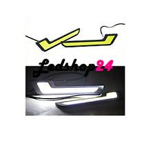KIT Luci Diurne Led DRL  Stile Mercedes BMW Daytime Running Light Power 6000K**