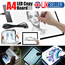 A4 LED Stencil Board Light Box Artist Art Tracing Drawing Copy Plate Gift EO