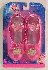 Barbie Mariposa Fancy Play Slippers ~ Dress Up Fun ~ NEW & FREE CONT US SHIPPING