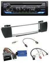 JVC CD USB Bluetooth DAB Lenkrad Autoradio für BMW X3 E83 2004-2010 mittig