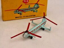 DINKY - 715 - BRISTOL 173 HELICOPTER - VN MINT & BOXED - 1956 -1962 VINTAGE