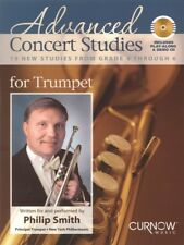 Advanced Concert Studies for Trumpet 19 New Studies from Grade 4 044006765