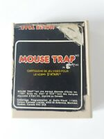 Atari 2600 Mouse Trap De Exidy 1982 Coleco Inc Cartridge Only