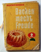 Altes Dr. Oetker Backbuch