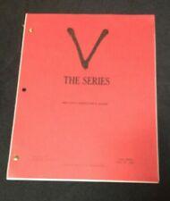 "Original 1984 ""V the series""writer's guide Warner Bros.Kenneth Johnson sci-fi TV"