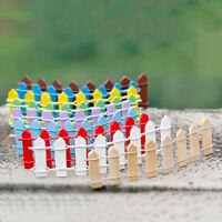 10X Lattice Fence Mini Signs Fairy.Dollhouse Garden Plant Figurine Decor AU~-