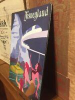 Disneyland Advertisement Flex Magnet Mermaid Peter Pan Monorail 19.94