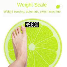 180kg Digital Electronic LCD Personal Glass Bathroom Body Scales USB