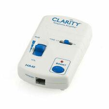 Plantronics 01933000 Clarity Ha40 Telephone Handset Amplifier 01933.000