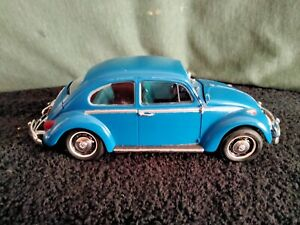 Tamiya 1966 Volkwagen Beetle 1/24 Scale Plastic Model Car #24136-Amateur Built