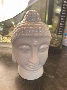Quality Latex Rubber Mould Large Buddha Head Fairy Garden Zen